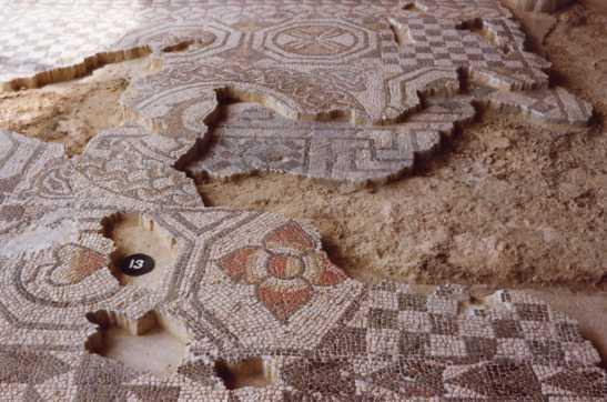 Fishbourne mosaics Hovell