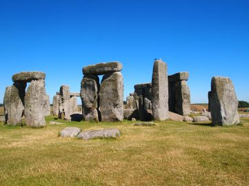 Stonehenge Muddy Archaeologist