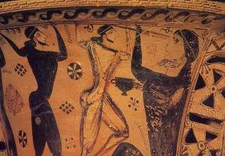 cyclops vase c670 BC detail