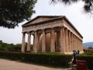 Temple of Hephaestus Muddy Archaeologist Gillian Hovell