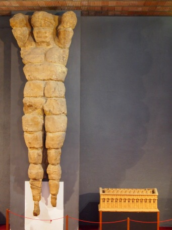 Telamon Agrigento Muddy Archaeologist Gillian Hovell