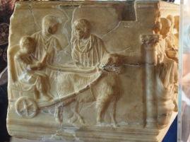 Roman sarcophagus Agrigento Muddy Archaeologist Gillian Hovell