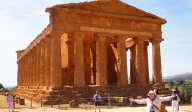 Agrigento Temple of Concord Muddy Archaeologist Gillian Hovell