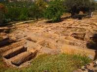 Chrstian burials Muddy Archaeologist Gillian Hovell