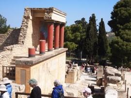 Knossos Muddy Archaeologist Gillian Hovell