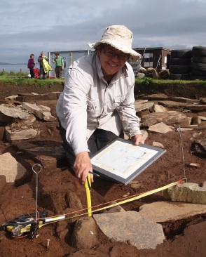 Muddy Archaeologist Gillian Hovell