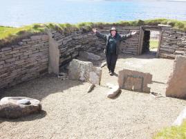 OMuddy Archaeologist Gillian Hovell