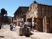 Herculaneum Muddy Archaeologist Gillian Hovell