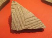 Grey Skorba pottery Muddy Archaeologist Gillian Hovell
