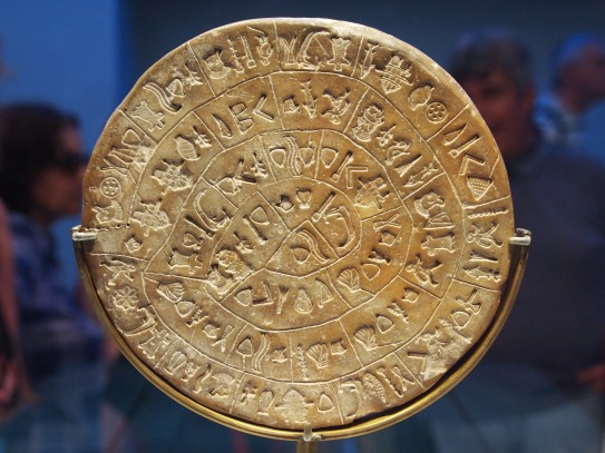 Phaistos disk Crete Gillian Hovell Muddy Archaeologist