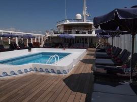 On board the Aegean Odyssey