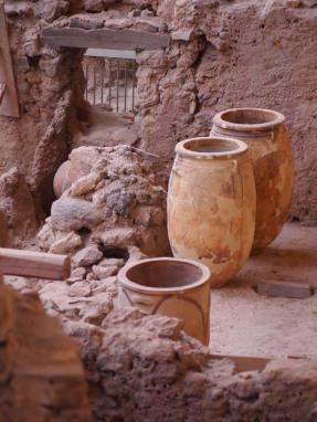 Akrotiri Muddy Archaeologist Gillian Hovell