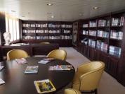Aegean Odyssey's stunningly stocked library