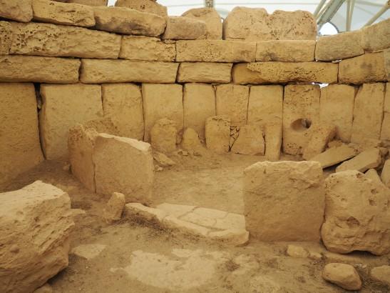 Hagar Qim Muddy Archaeologist