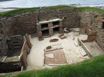 Skara Brae Neolithic Muddy Archaeologist