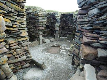 Jarlshof wheelhouse Muddy Archaeologist
