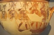 Mycenaean Warrior Vase Muddy Archaeologist