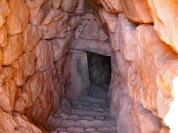 Cistern Mycenae Citadel Muddy Archaeologist