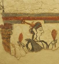 PA040610 fresco Mycenae cr