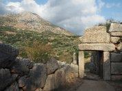 Mycenae Citadel Muddy Archaeologist