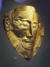 Agamemnon mask Muddy Archaeologist