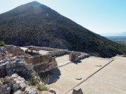Mycenae Megaron Muddy Archaeologist