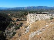 Mycenae Terraces Muddy Archaeologist