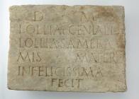 Roman gravestone: Metropolitan Museum Open Access