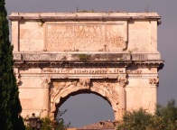 Arc of Titus, Rome. (c) Gillian Hovell