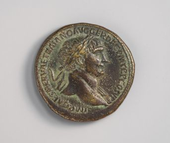 Trajan coin: Metropolitan Museum Open Access